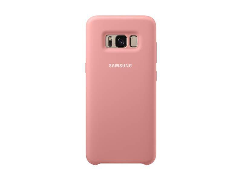 Kryt na mobil Samsung Silicone Cover pro Galaxy S8 - růžový 4e23eba1ec0