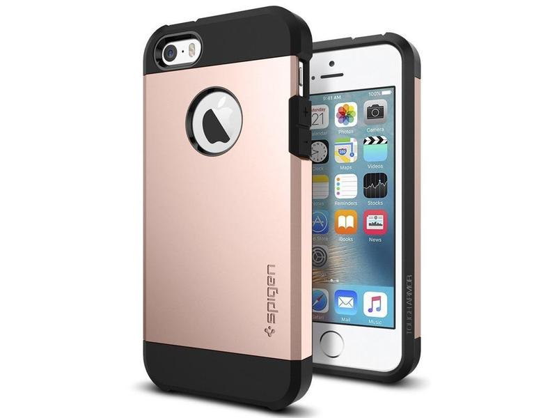 SPIGEN Tough Armor - Apple iPhone SE 5s 5 rose gold  25aef655830