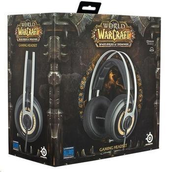 STEEL SERIES World of Warcraft Headset, 51154, herní sluchátka, ovládání hlasitosti, jack 3,5mm, s mikrofonem, 32 Ohm