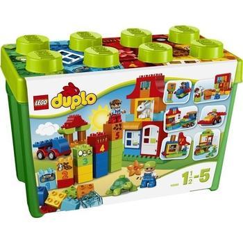LEGO DUPLO Kostičky 10580 Zábavný box Deluxe,