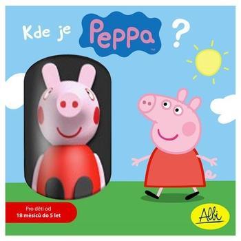 ALBI Kde je Peppa?, , společenská hra