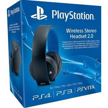 SONY PS4 Wireless Stereo Headset 2.0 Boxed, PS719281788, bezdrátová sluchátka, ovládání hlasitosti, bluetooth, headset, skládací