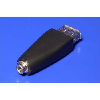 OEM Napájecí redukce USB - stereo jack 3,5 mm, 12.92.1088, redukce, USB A (F), ->jack 3,5mm (F)