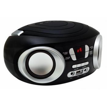 MANTA Boombox MM209N, , radiomagnetofon, MP3, FM rádio, USB, možnost napájení na baterie