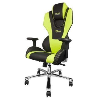E-BLUE MAZER, , zelená (green), herní židle