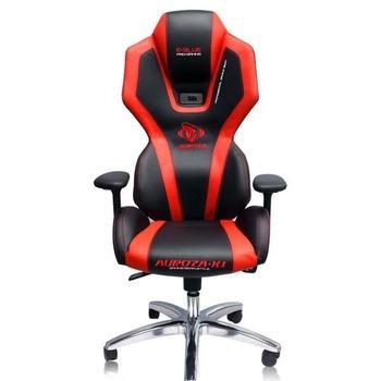 E-BLUE AUROZA, , červená (red), herní židle, podsvícená