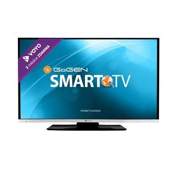 "GOGEN TVF 43E384 WEB, , 43"" LED TV, úhlopříčka 109cm, 1920x1080, 200Hz, DVB-T, DVB-C, CI-slot, 2x HDMI, SCART, VGA, USB, RJ-45, DLNA, EPG, Wi-Fi, A+"