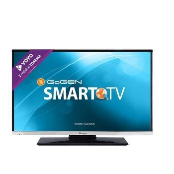 "GOGEN TVH 24E384 WEB, , 24"" LED TV, úhlopříčka 60cm, 1366x768, 50Hz, DVB-T, DVB-C, CI-slot, 2x HDMI, SCART, VGA, 2x USB, RJ-45, DLNA, A+"
