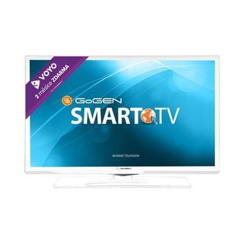 "GOGEN TVH 24E550 WEBW, , bílá (white), 24"" LED TV, úhlopříčka 60cm, 1366x768, 50Hz, DVB-T, DVB-C, CI-slot, 2x HDMI, SCART, VGA, 2x USB, RJ-45, DLNA, EPG, A+"