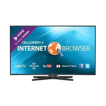 "GOGEN TVL 50248 WEB, , 50"" LED TV, úhlopříčka 127cm, 1920x1080, 400Hz, DVB-T, DVB-C, CI-slot, 2x HDMI, SCART, VGA, 2x USB, RJ-45, DLNA, EPG, A"