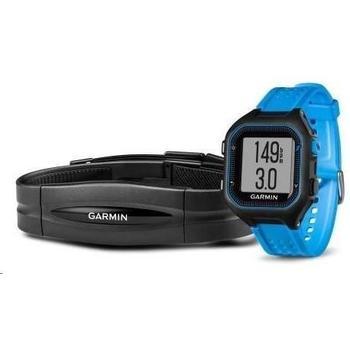GARMIN Forerunner 25 HR Black/Blue (vel. XL), 010-01353-51, GPS sportovní hodinky