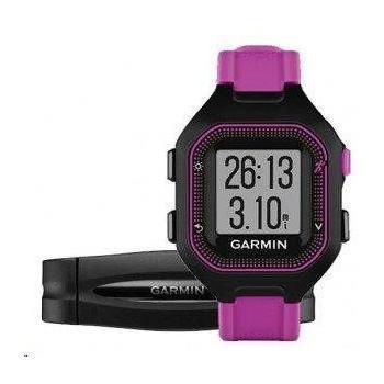 GARMIN Forerunner 25 HR Black/Purple (vel. S), 010-01353-70, GPS sportovní hodinky