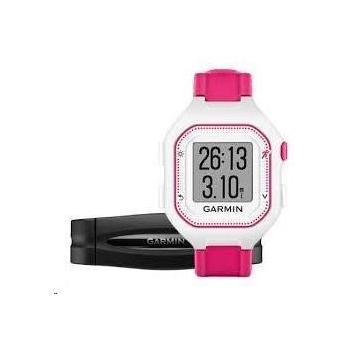 GARMIN Forerunner 25 HR White/Pink (vel. S), 010-01353-71, GPS sportovní hodinky