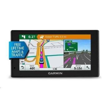 "GARMIN DriveSmart 50 Lifetime Europe45, 010-01539-17, GPS navigace do auta, micro SD, handsfree, BT, 5"" displej, 45 zemí Evropy"