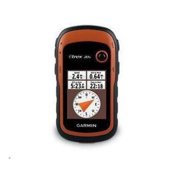 "GARMIN eTrex 20x, západní Evropa, 010-01508-05, GPS turistická navigace, 2,2"" displej, Kompas, Výškoměr, 2xAA, Topo Czech"