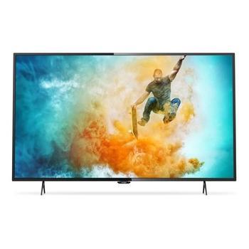 """PHILIPS 55PUS6101, , 55"""" LED TV, úhlopříčka 139cm, 3840x2160, 800Hz, DVB-T2, DVB-S2, DVB-C, CI-slot, 4x HDMI, SCART, 3x USB, RJ-45, EPG, Wi-Fi, A+, 66W"""