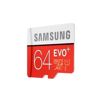 SAMSUNG micro SDHC karta EVO Plus 64GB, MB-MC64D/EU, paměťová karta, Class 10