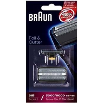 BRAUN CombiPack FlexIntegral - 31S stříbrný - náhradní díl, , planžeta