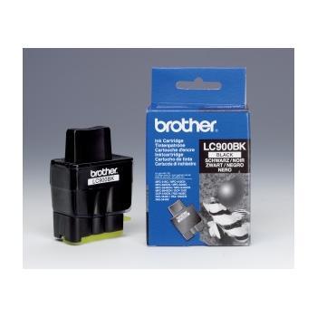 BROTHER LC-900Bk, LC900BKYJ1, černá (black), inkoustová náplň pro DCP-110C/115C/117C|MFC-210C/215C/410CN/425CN
