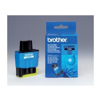BROTHER LC-900C, LC900CYJ1, azurová (cyan), inkoustová náplň pro DCP-110C/115C/117C|MFC-210C/215C/410CN/425CN