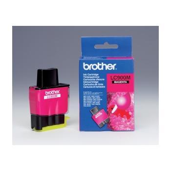 BROTHER LC-900M, LC900MYJ1, purpurová (magenta), inkoustová náplň pro DCP-110C/115C/117C|MFC-210C/215C/410CN/425CN