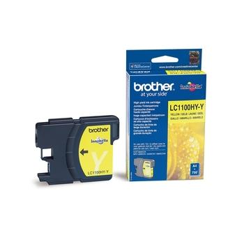 BROTHER LC-1100HYY, LC1100HYY, žlutá, inkoustová náplň, 750 str