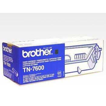 BROTHER TN-7600, TN7600YJ1, černý (black), 6.500 stran, toner, pro Brother HL-1650, 1670N, 1850, 1870