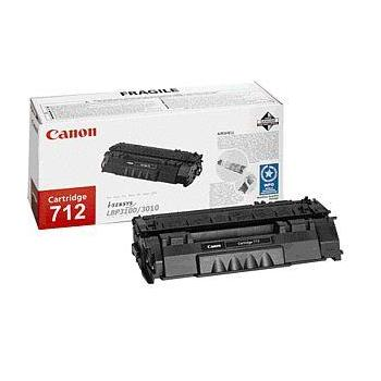 CANON CRG-712, 1870B002, černý (black), 1500 stran, toner pro LBP-3010 a 3100