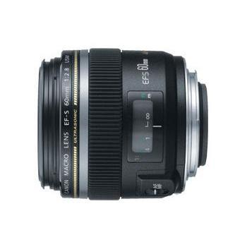 CANON EF-S 60mm f/2.8 macro USM, 0284B008AA, objektiv, 60mm, F2.8