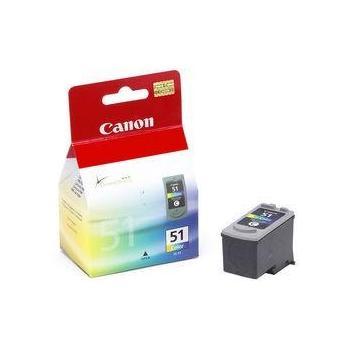 CANON CL-51, CL51, barevná (color), inkoustová náplň pro iP1200, iP1600, iP2200, iP6210D, iP6220D, MP150, MP160, MP170, MP450