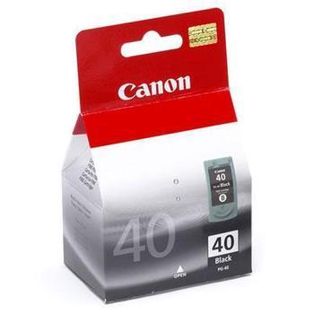 CANON PG-40, PG40, černá (black), 16 ml, inkoustová náplň pro iP1200, iP1600, iP2200, MP150, MP160, MP170, MP450