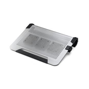 """COOLERMASTER NotePal U3 Plus, R9-NBC-U3PS-GP, stříbrný (silver), chladící podložka pod notebook, do velikosti 19"""""""
