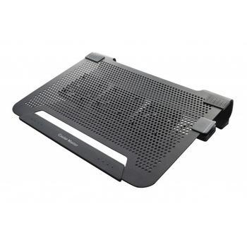 """COOLERMASTER NotePal U3 Plus, R9-NBC-U3PK-GP, černý (black), chladící podložka pod notebook, do velikosti 19"""""""