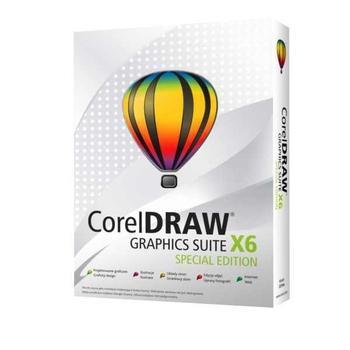 COREL Graphics Suite X6 Special Edition, CDGSX6SPCZPLEU, grafický software