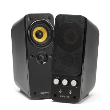 CREATIVE Gigaworks T20 Series II, 51MF1610AA000, reproduktory, 2.0ch zvuk, plast, 28W, výstup na sluchátka
