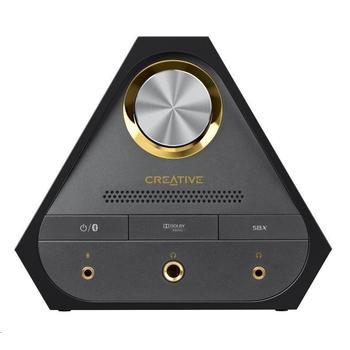 CREATIVE Sound Blaster X7, 70SB158000000, digitálně-analogový převodník s USB, zesilovač zvuku s dekodérem Dolby Digital