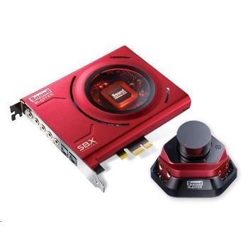 CREATIVE Sound Blaster ZX, 70SB150600001, zvuková karta, PCIe, 24bit, Audio control modul