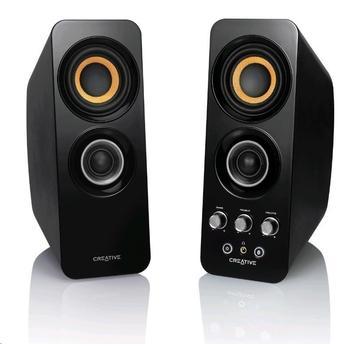 CREATIVE Inspire T30 Wireless, 51MF1655AA000, reproduktory, 2.0ch zvuk, výstup na sluchátka, bluetooth, jack 3,5mm, NFC