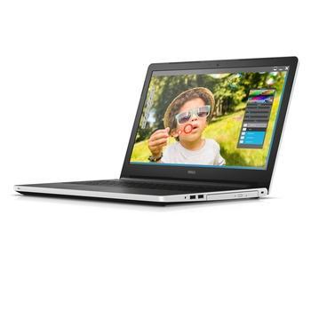 "DELL Inspiron 5559, N-5559-N2-512W, bílý (white), notebook, Core i5 6200U, AMD Radeon R5 M335, AMD, 15,6"", 1366x768, 4GB, HDD 1TB, DVD+-RW, W10, Wi-Fi, BT, CAM, USB 3.0, HDMI"