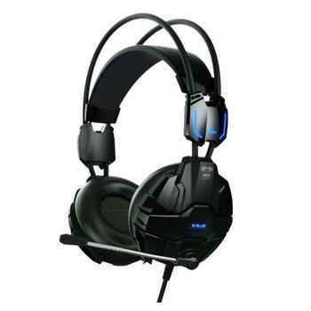 E-BLUE Cobra 902, EHS902BKAA-IY, černá (black), herní sluchátka, s mikrofonem, USB