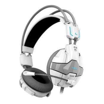 E-BLUE Cobra 902, EHS902WHAA-IY, bílá (white), herní sluchátka, s mikrofonem, USB