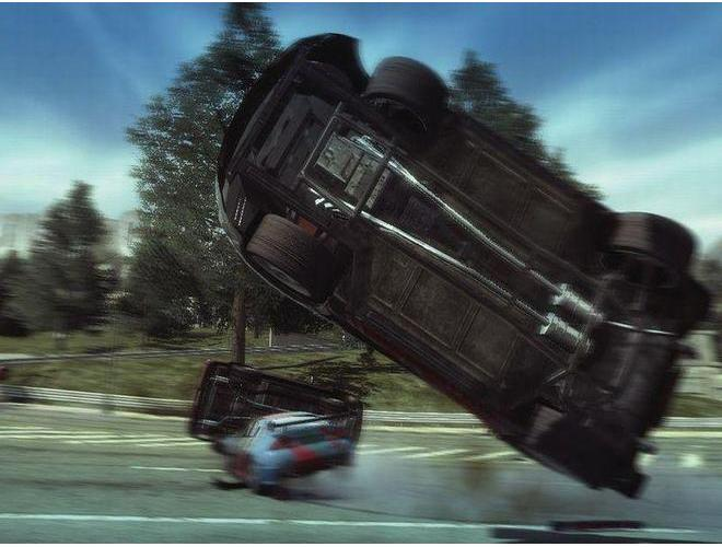 The Ultimate Box. header=Скриншот из игры Burnout Paradise. The Ultimate