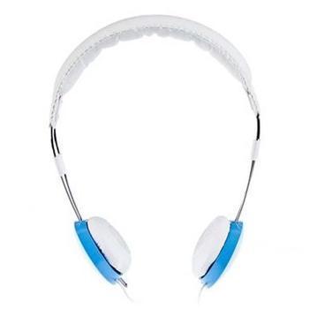 ENZATEC HS306, HS306BL, modro-bílá, sluchátka pro iPhone, s mikrofonem, jack 3,5mm