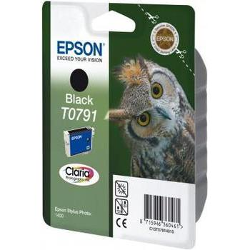 EPSON C13T07914010, C13T07914010, černá (black), 11ml, inkoustová náplň pro Stylus Photo 1400, PX700W, PX800FW