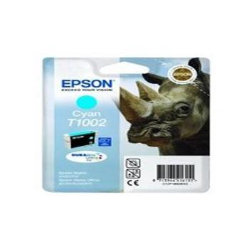 EPSON T1002, C13T10024010, azurová (cyan), inkoustová náplň pro B40W/ SX600FW