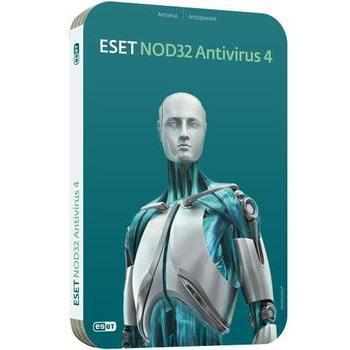 ESET NOD32 Antivirus, , antivirový program, RETAIL, 1 licence, 12 měs., česká lokalizace, CD
