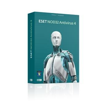 ESET NOD32 Antivirus, , antivirový program, UPGRADE, 4 licence, 36 měs., česká lokalizace, bez média - pouze licence