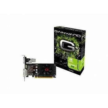GAINWARD GeForce GT610 1GB, 426018336-2647, grafická karta, GeForce GT 610, 1GB, DDR3, PCIe 2.0, 15pin D-sub, DVI, HDMI, NVIDIA CUDA