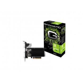 GAINWARD GeForce GT720 1GB, 426018336-3316, grafická karta, GeForce GT 720, 1GB, DDR3, PCIe 2.0, 15pin D-sub, DVI, HDMI, NVIDIA CUDA, pasivní chladič