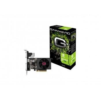 GAINWARD GeForce GT720 1GB, 426018336-3323, grafická karta, GeForce GT 720, 1GB, DDR3, PCIe 2.0, 15pin D-sub, DVI, HDMI, NVIDIA CUDA